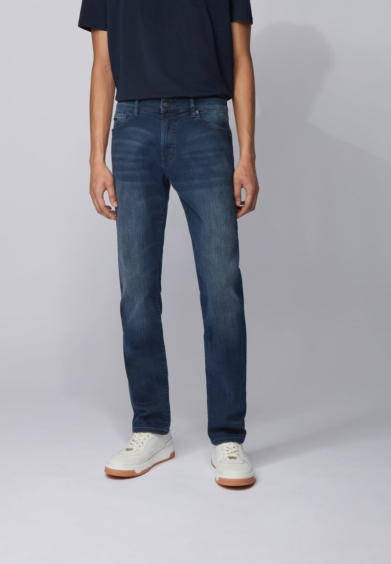 BOSS - MAINE BC-L-P - Straight leg jeans - dark blue