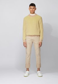 BOSS - DELAWARE - Slim fit jeans - beige - 1