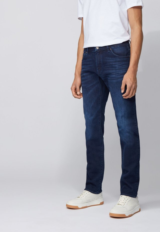 MAINE3 - Slim fit jeans - dark blue