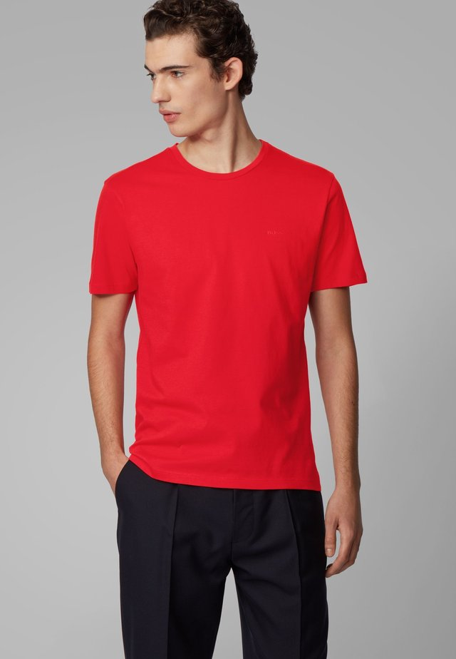 LECCO  - Basic T-shirt - red