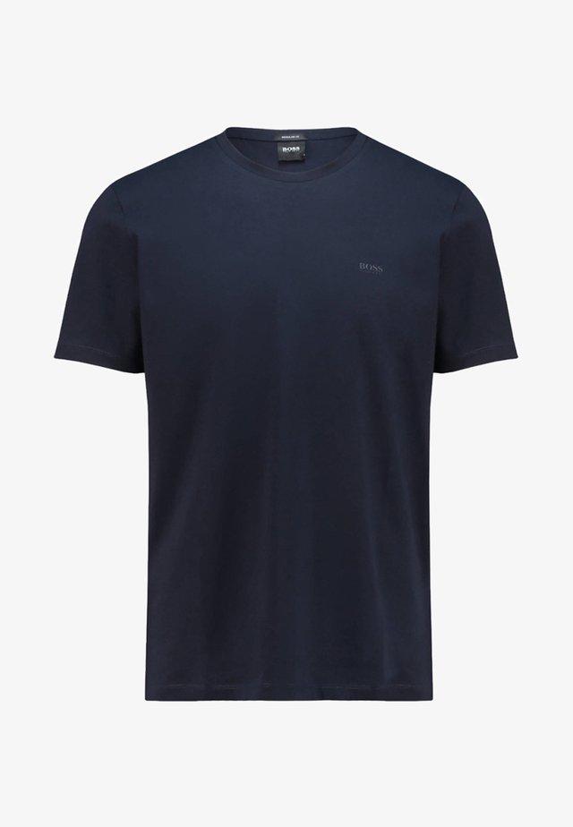LECCO - T-shirt basique - marine