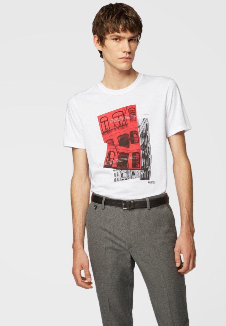 BOSS - TESSLER - T-shirt print - white