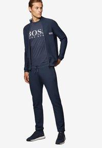 BOSS - T-shirt print - dark blue - 1