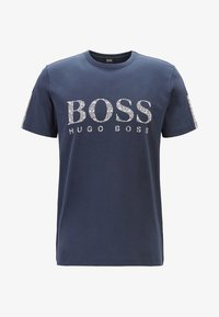 BOSS - T-shirt print - dark blue - 3