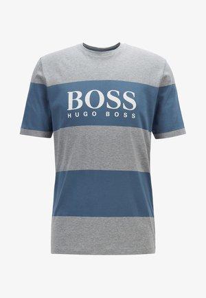 TIBURT  - T-shirt print - silver
