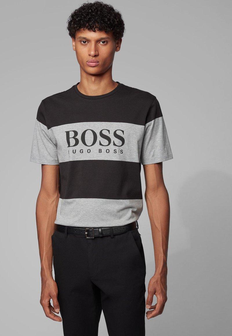 BOSS - TIBURT  - T-shirt con stampa - black