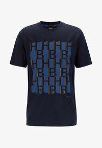 BOSS - TAMES - T-shirt print - dark blue - 3