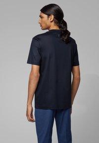 BOSS - TAMES - T-shirt print - dark blue - 2