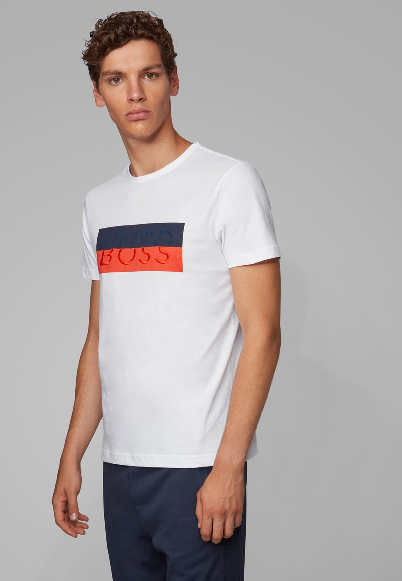 BOSS - TEE 2 - T-Shirt print - white