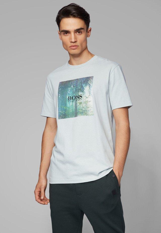 TIPOFF  - T-Shirt print - silver