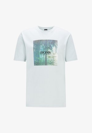TIPOFF  - Print T-shirt - silver