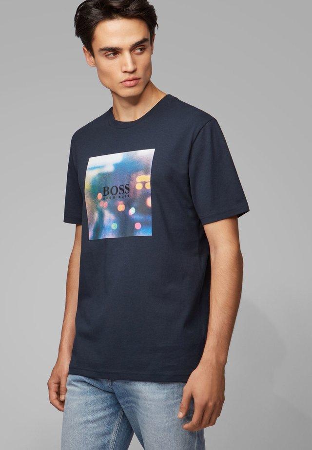 TIPOFF  - T-Shirt print - dark blue