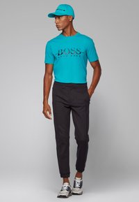 BOSS - TEE  - Print T-shirt - green - 1
