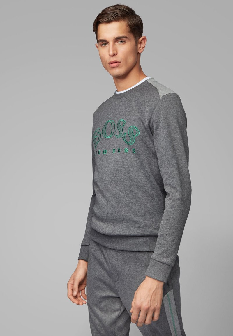 BOSS - SALBO - Sweatshirt - grey