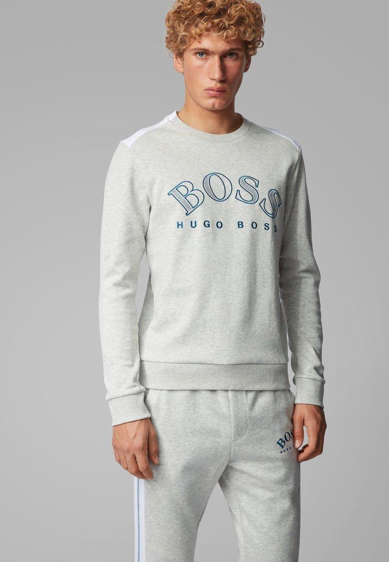 BOSS - SALBO - Sweatshirts - light grey
