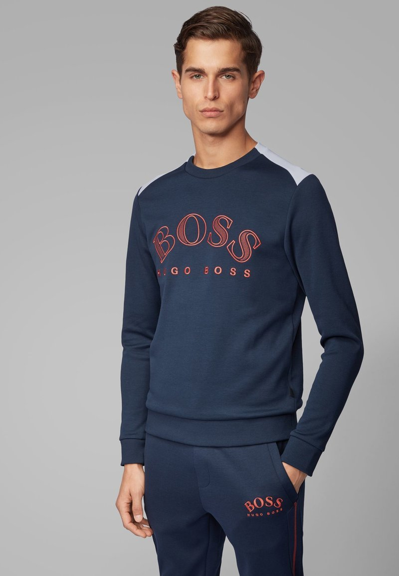 BOSS - SALBO - Sweatshirt - dark blue