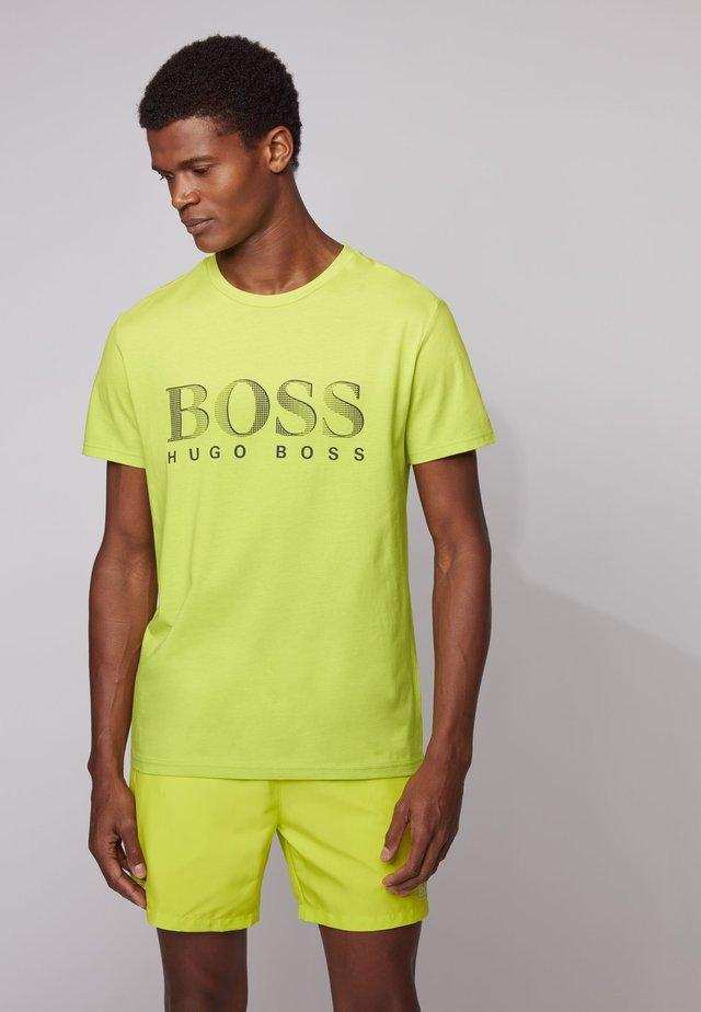 T-SHIRT RN - Print T-shirt - yellow