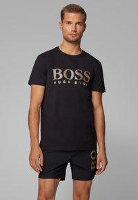 BOSS - T-SHIRT RN SPECIAL - T-shirt imprimé - black - 0