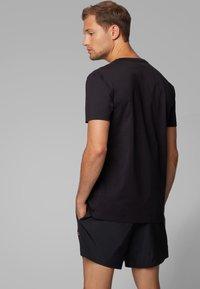 BOSS - T-SHIRT RN SPECIAL - T-shirt imprimé - black - 1