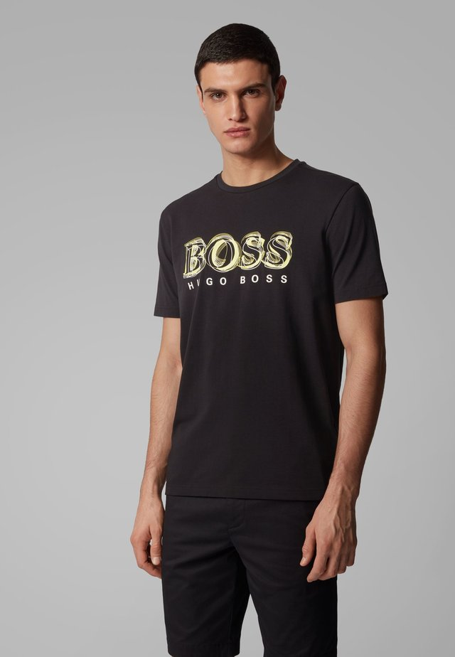 TEE 4 - T-shirt con stampa - black