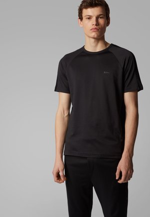 TEE 12 - Basic T-shirt - black
