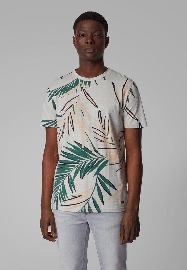 TELEAF - T-Shirt print - silver