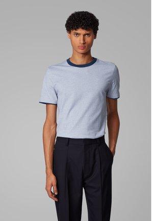 TESSLER 129 - Print T-shirt - dark blue