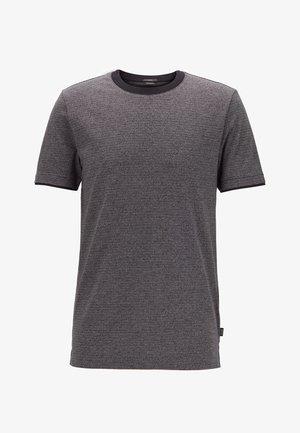 TESSLER 129 - Print T-shirt - black