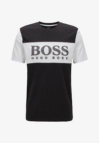 BOSS - TEE 6 - Print T-shirt - black - 3