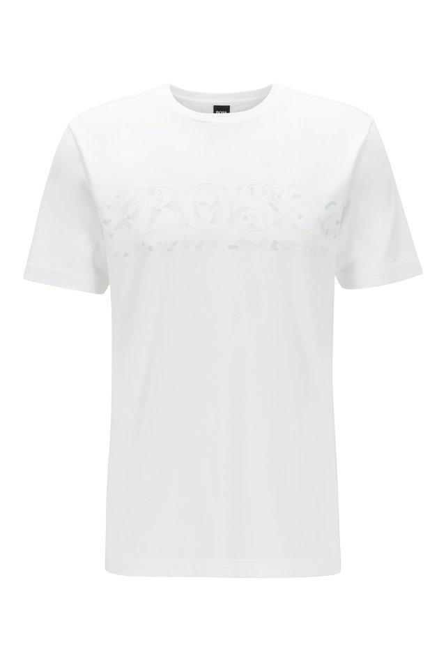 TEE 14 - Print T-shirt - white