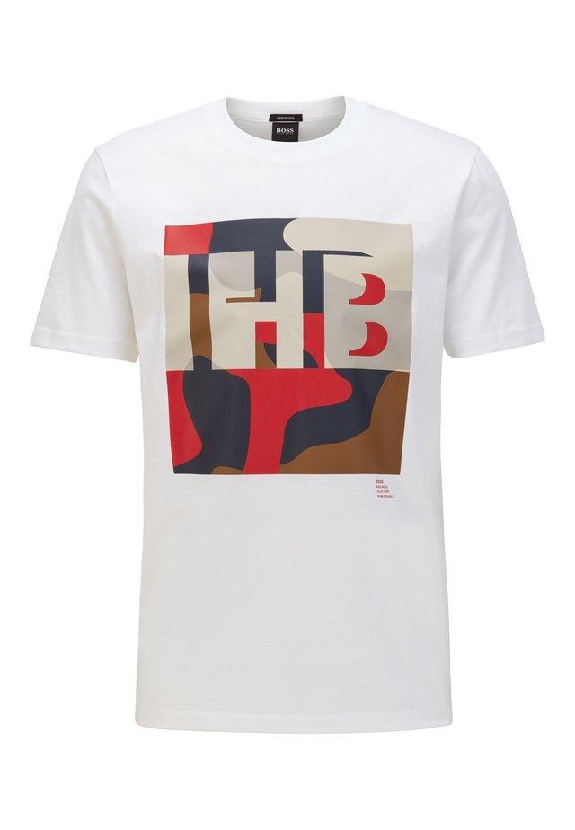 TIBURT 161 - T-shirt imprimé - white
