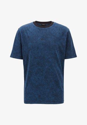 TWASH - Basic T-shirt - dark blue