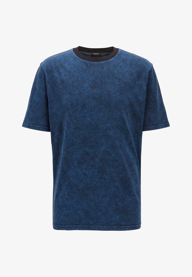 TWASH - T-shirt basic - dark blue