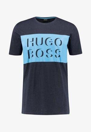 """BOSS HERREN T-SHIRT """"TIBURT"""" - Print T-shirt - marine (52)"""