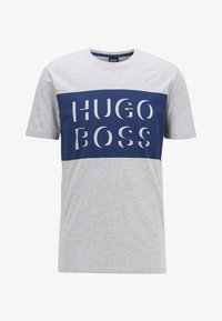 BOSS - TIBURT 162 - Print T-shirt - open grey - 0