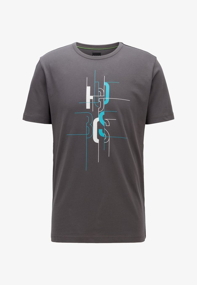TEE  - T-shirt con stampa - anthracite