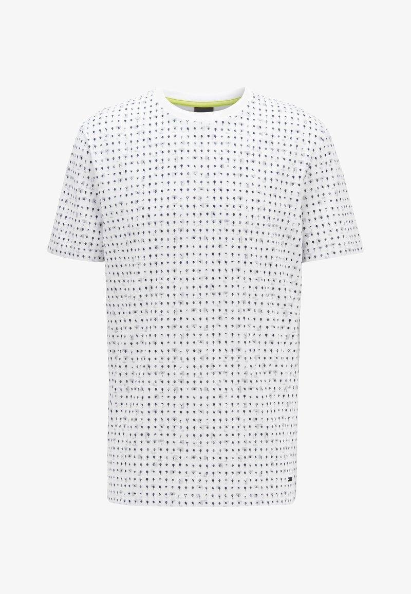 BOSS - TEPOL - Print T-shirt - white
