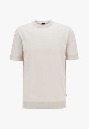 IMATTEO - T-shirt basic - natural