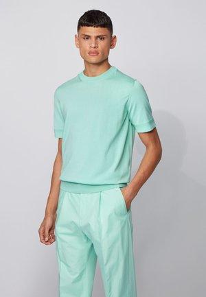 IMATTEO - Basic T-shirt - open green
