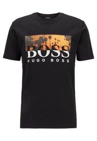 BOSS - TSUMMER  - Print T-shirt - black - 0