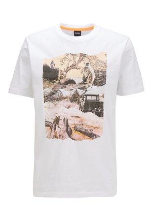 TEXRAY - Print T-shirt - white