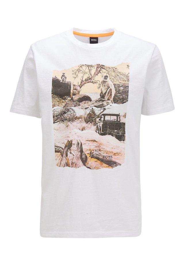 TEXRAY - T-shirt print - white