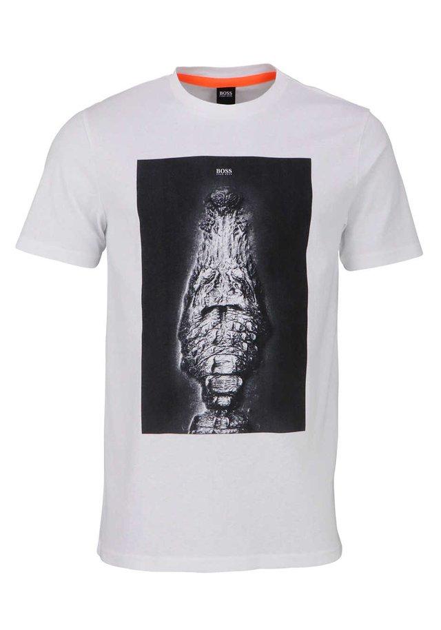 TROAAR - Print T-shirt - creme - beige