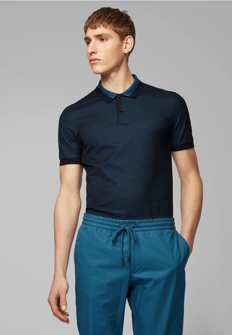 BOSS - PHILLIPSON - Polo shirt - blue