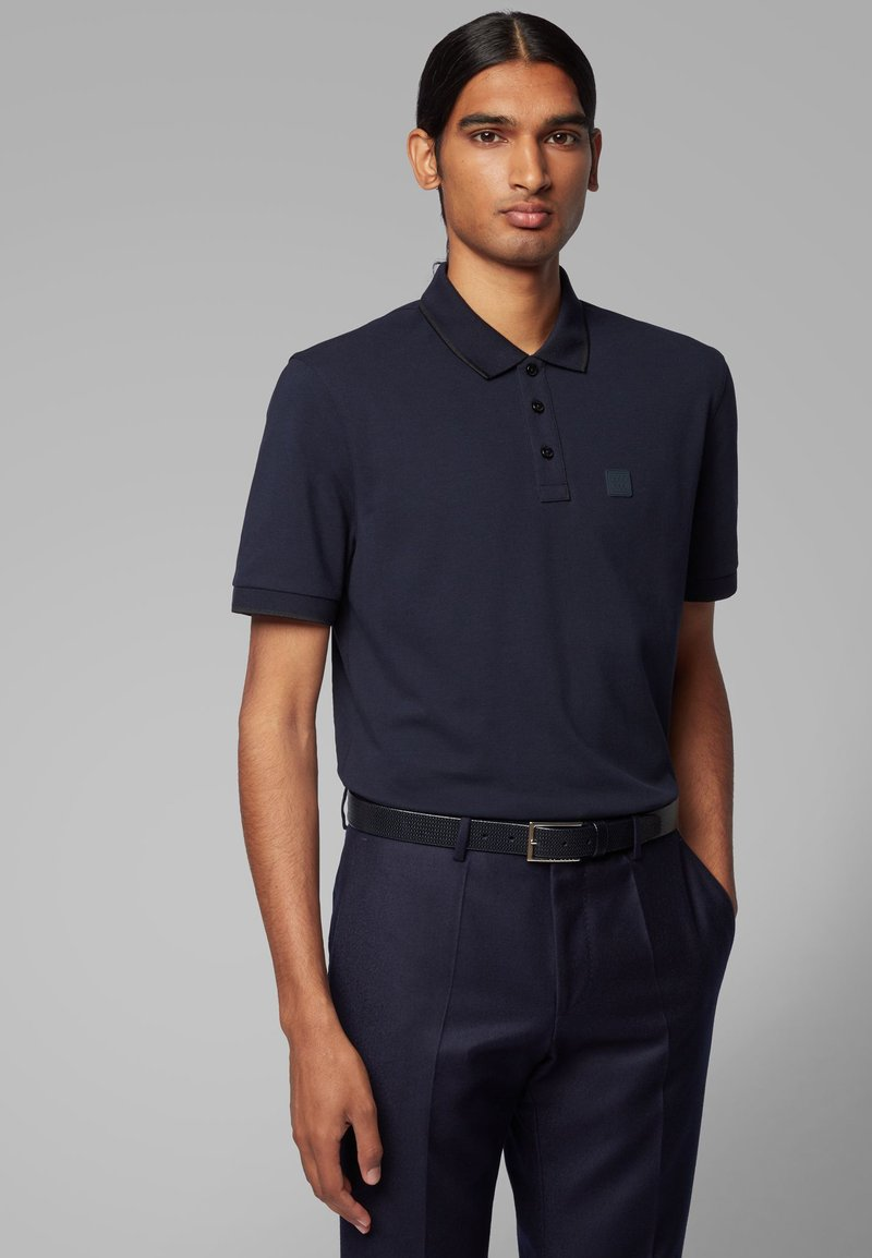 BOSS - PARLAY  - Polo - dark blue