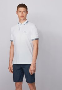 BOSS - PAUL CURVED - Polo shirt - natural - 2