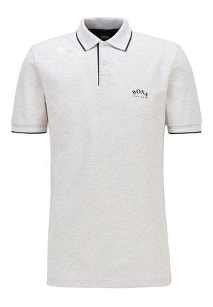 PAUL CURVED - Poloshirt - light grey