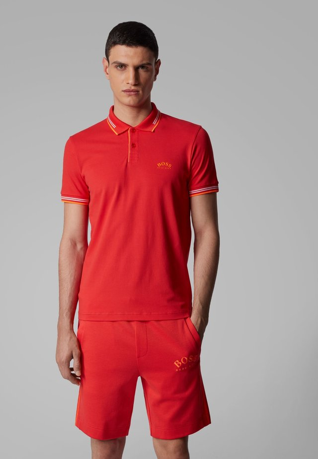 PAUL CURVED - Polo - red