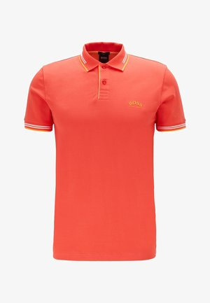 PAUL CURVED - Polo shirt - red