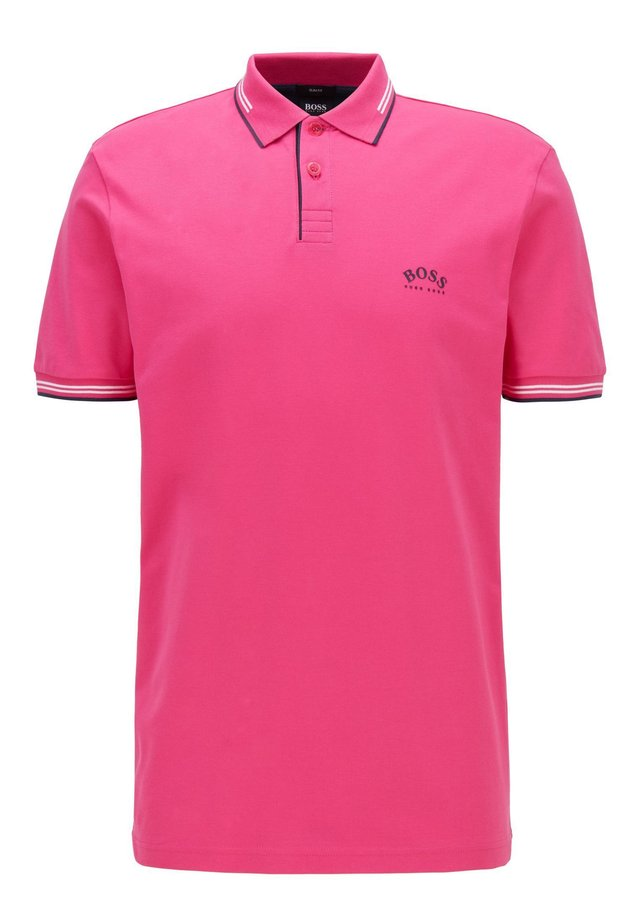 PAUL CURVED - Polo - pink